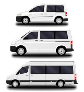 passenger vans and minivans.