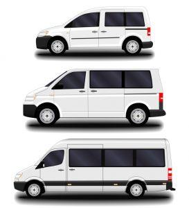 passenger vans and minivans.